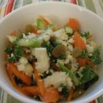 Cauliflower Salad with Orange Vinaigrette