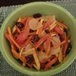 Root Vegetable Salad with Maple Cinnamon Vinaigrette
