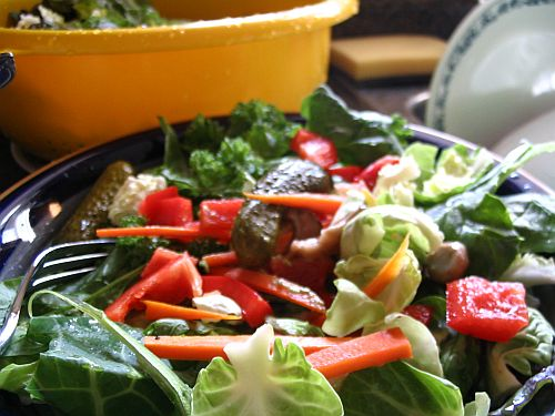 five-green-salad