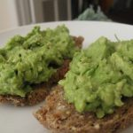 Avocado Toast on Manna Bread