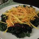 Carrot and Daikon Salad with Carrotini Dressing