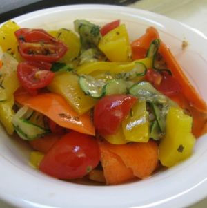 Rapidly Raw: Marinated Veggies