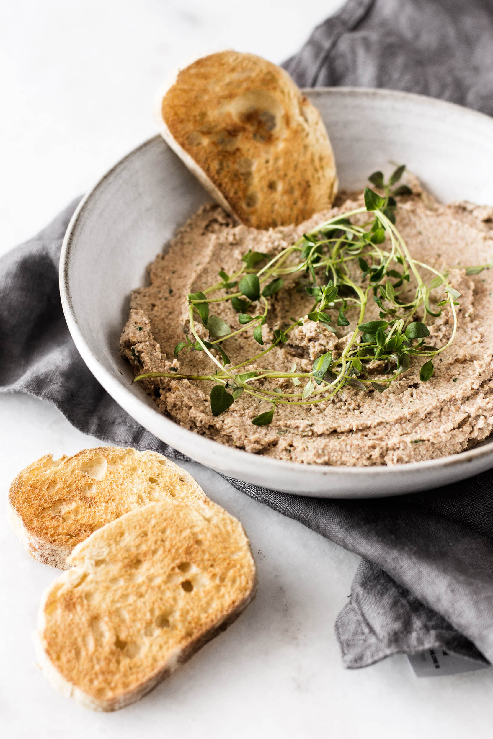 Walnut Lentil Pate | The Full Helping
