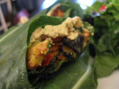 Raw Indian-Spiced Wrap