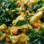 Sprouted Wheatberry Salad