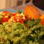 Low(er) Fat Green Pea Guac