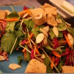 Curried Pineapple Salad with Tempeh