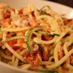 Raw Zucchini Alfredo
