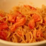 One Dish, Two Ways: Cheesy Red Pepper and Hemp Noodles