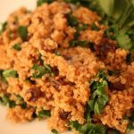 Operation Rice Cooker: Cinnamon Raisin Quinoa with Kale