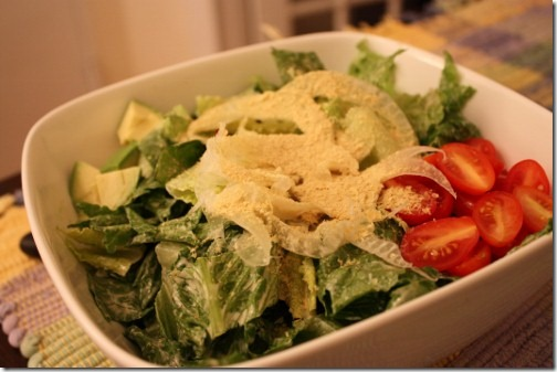 Raw, Vegan Caesar Salad Dressing | The Full Helping