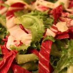 Chicory Salad with Warm Mustard Dressing