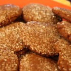 Vegan Molasses Ginger Cookies