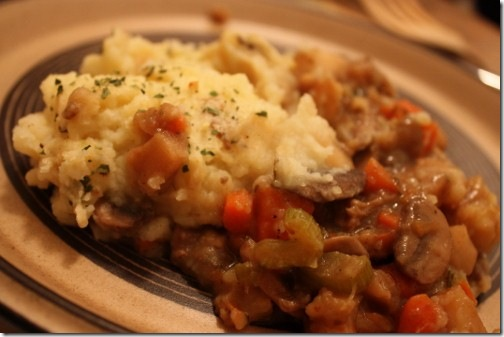 Traditional Vegan Shepherd's Pie | The Full Helping