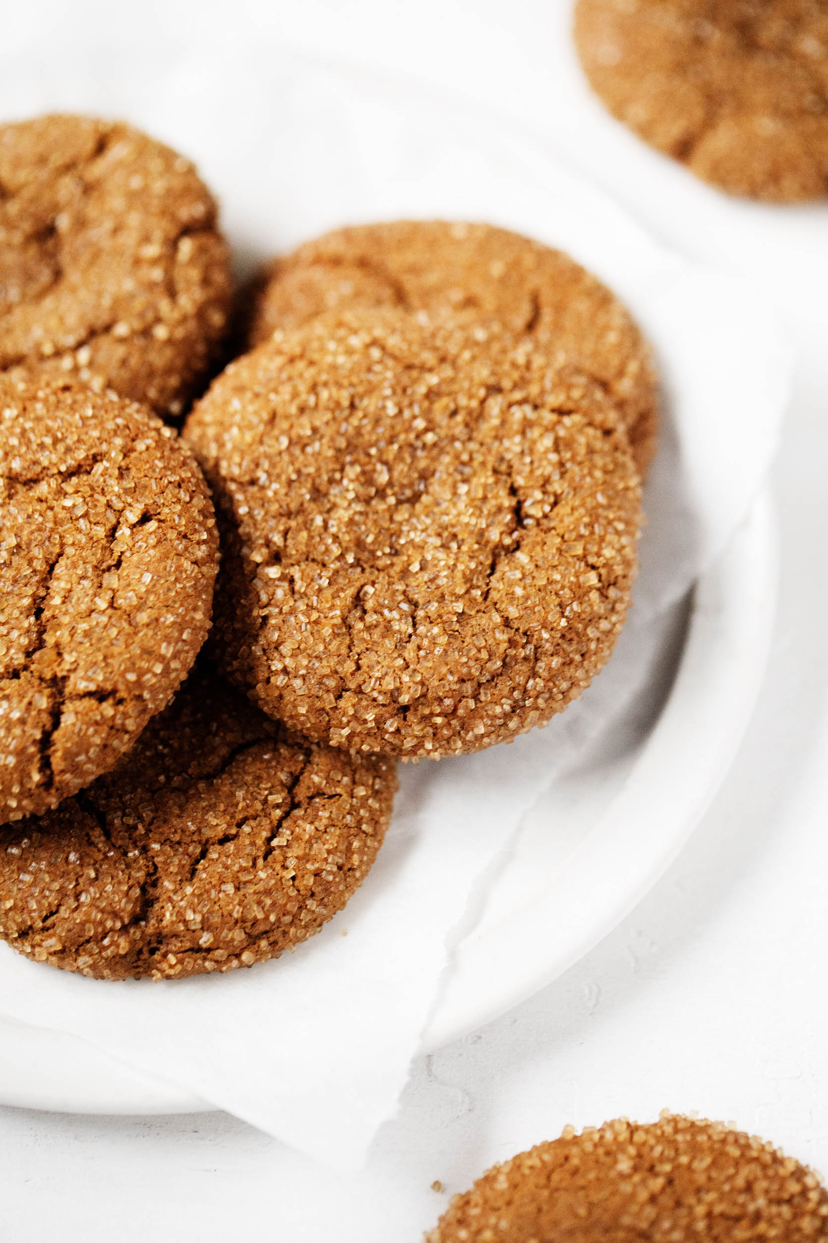 Vegan Molasses Ginger Cookies The Full Helping