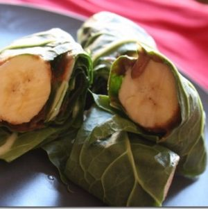 Raw Banana Breakfast Sushi