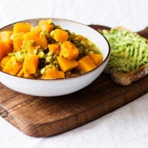 Butternut Squash and Split Pea Soup