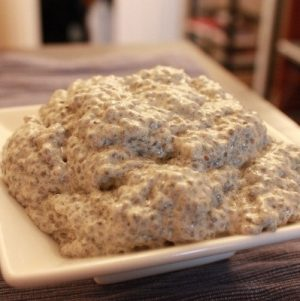Chia Seed Power Pudding