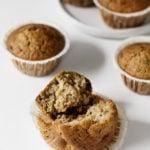 Vegan Zucchini Date Muffins