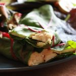 Zesty Orange Cashew Cheese and Apple Wraps