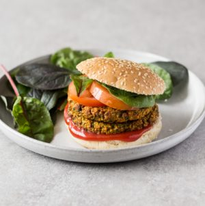 Ridiculously Healthy Millet, Kale & Yam Burgers | The Full Helping