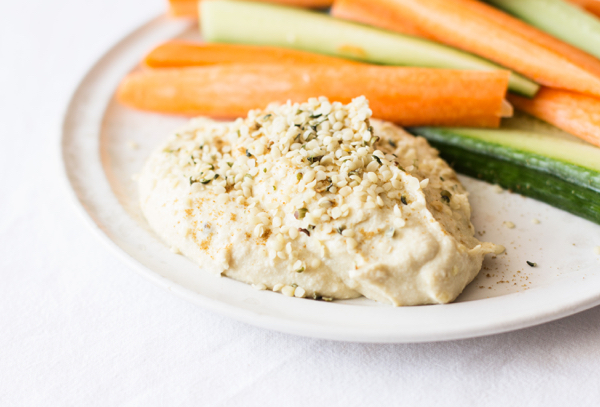 High Protein Hemp Hummus | The Full Helping