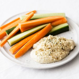 High Protein Hemp Hummus | The Full Helping