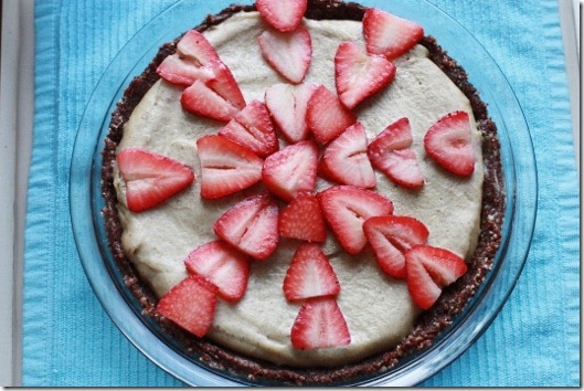 Raw Cheesecake with Cacao Crust