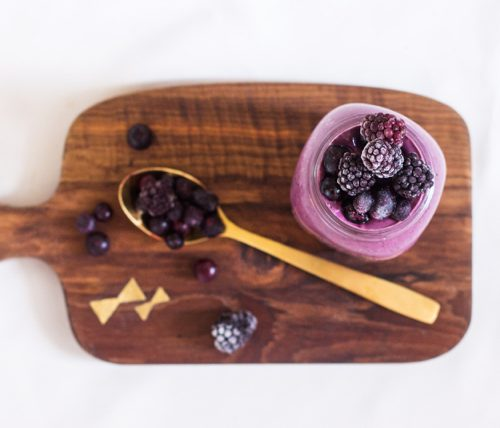 Black and Blue Smoothie | The Full Helping