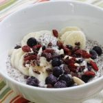 Overnight Superfood Bowl with Chia Seeds and Quinoa