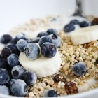 Raw vegan cheaters granola