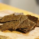 Juice Pulp Cracker Experimentation: A Chia/Flax Comparison, and a New Recipe for Raw Lemon Thyme Crackers