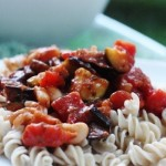 Hurry Up Vegan: White Bean and Summer Vegetable Pasta