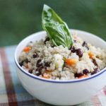 Hurry Up Vegan: Black Bean and Quinoa Salad with Quick Cumin Dressing