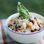 Hurry Up Vegan: Black Bean and Quinoa Salad with Quick Cumin Dressing