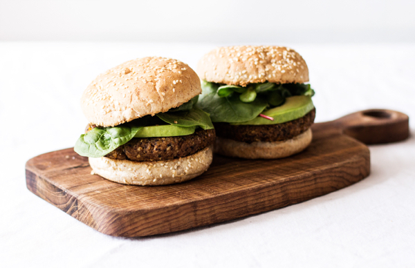 Black Bean-Corn Burger Recipe — Dishmaps