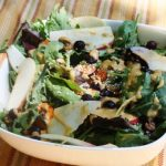 Superfood Salad Bowl With Smoky Red Pepper Mesquite Dressing