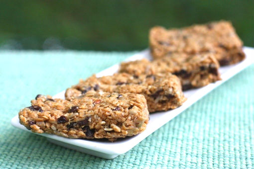 Five Minute, No-Bake Sunflower Oat Bars