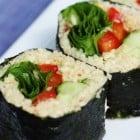 Raw Parsnip Sushi Rice
