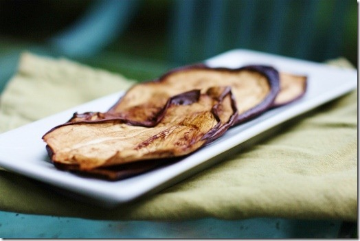 Eggplant Bacon (Raw and Vegan)