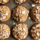 Banana, Oat and Chia Seed Muffins | The Full Helping