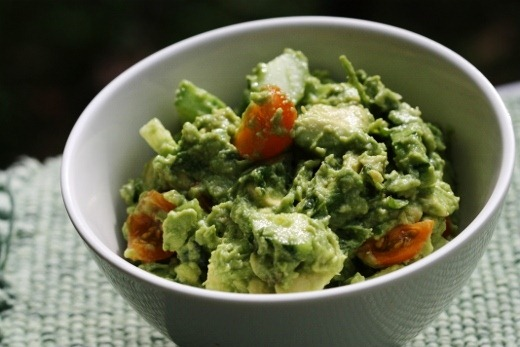 Cool as a cucumber guacamole the full helping for Recipes with minimal ingredients