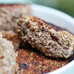 Mushroom, Lentil, and Quinoa Croquettes