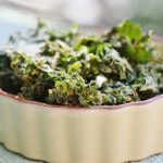 Spicy Curry Kale Chips–Raw and Vegan!