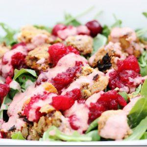 Thanksgiving Leftover Salad Bowl