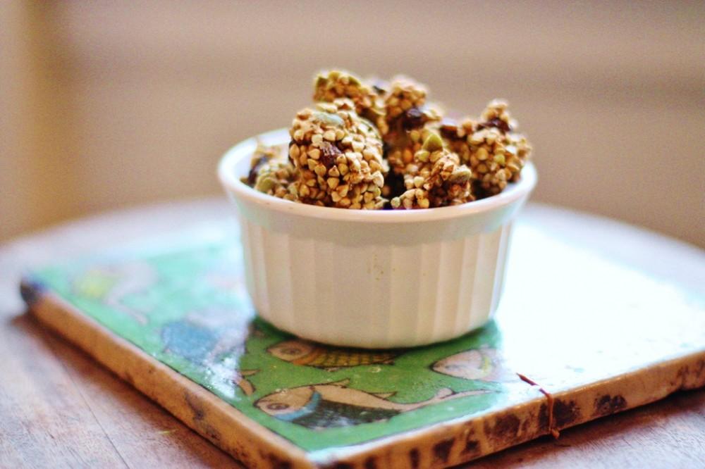 ... Giving Continues: Low Fat Apple Cinnamon Raisin Buckwheat Granola