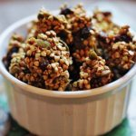 Edible Giving Continues: Low Fat Apple Cinnamon Raisin Buckwheat Granola!