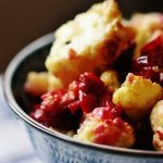 Curried Cauliflower and Cranberries