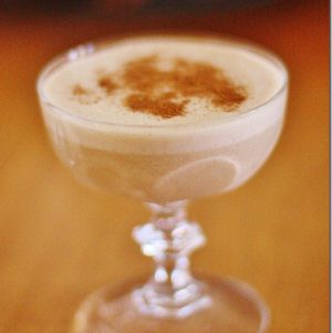 Five Minute High Raw, Vegan Eggnog