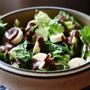 Chocolate Avocado Breakfast Salad
